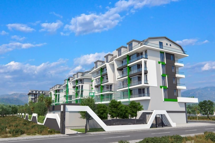 Property near the sea under construction in Alanya title=