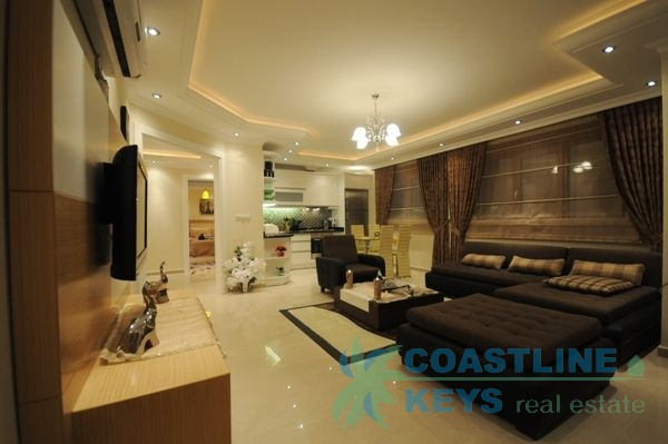 Luxurious apartments in Mahmutlar with sea view title=