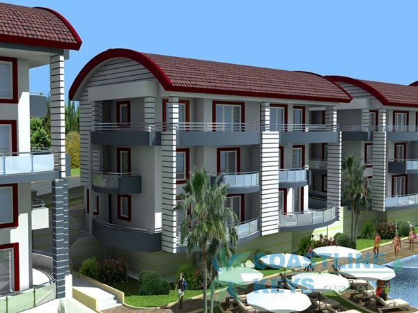 Apartments in Side with sea view title=
