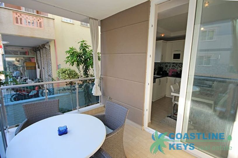 Furnished 1-bedroom apartment in Alanya center title=