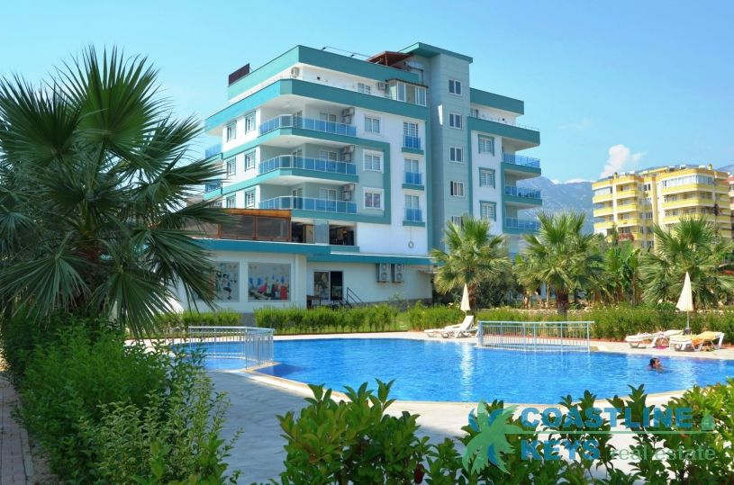 Apartments with furniture in Mahmutlar title=