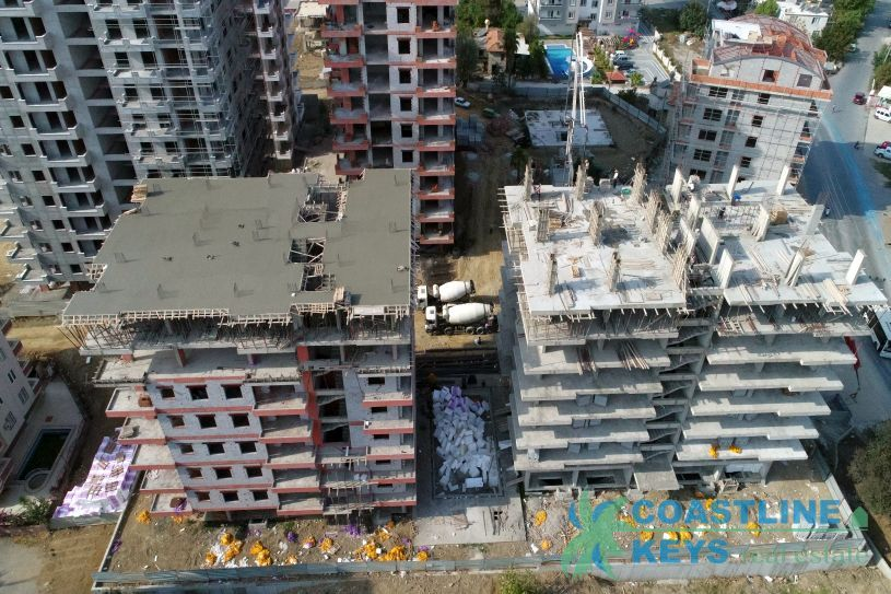 New project under construction in Alanya title=