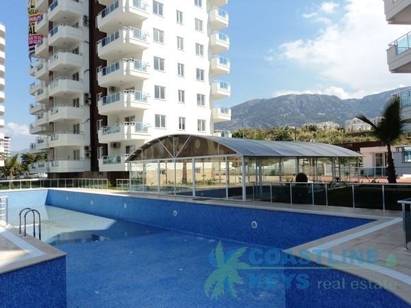 3 bedroom penthouse with mountains view in Mahmutlar title=