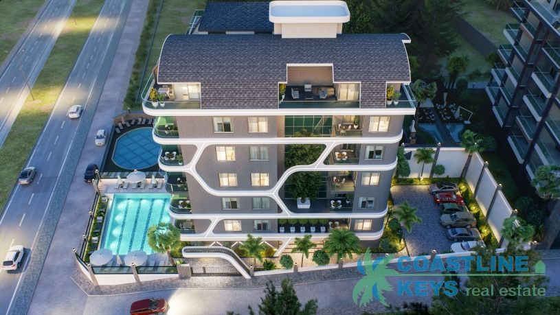Beach front apartments in Kargicak title=