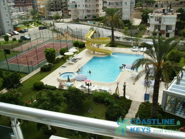 1-bedroom furnished apartment in Cikcilli center, Alanya title=