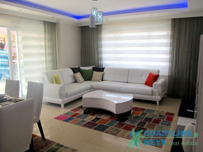 New apartments in the complex in Mahmutlar title=