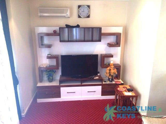 3-room fully furnished apartment in Side area title=