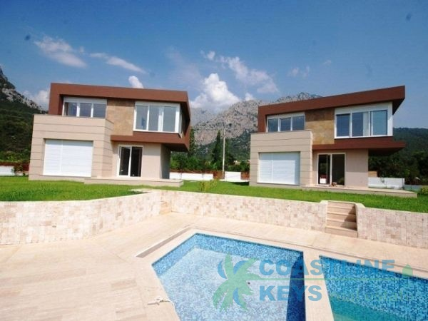 Modern villas at an affordable price in Antalya title=
