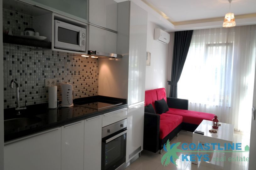 Cozy 1-bedroom apartment for rent in Oba title=