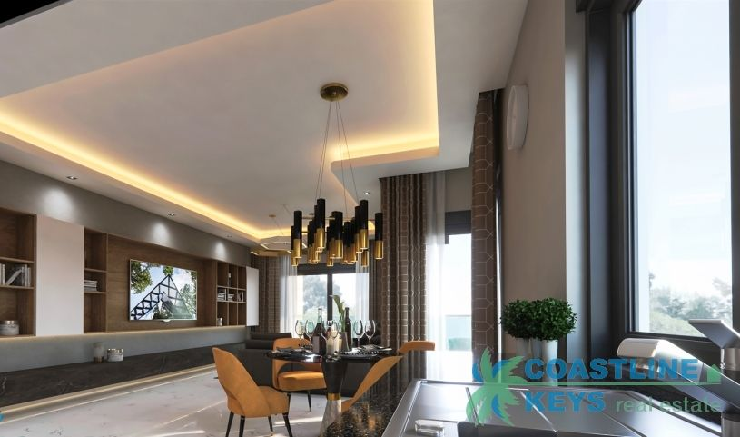Property under construction in Oba, Alanya title=