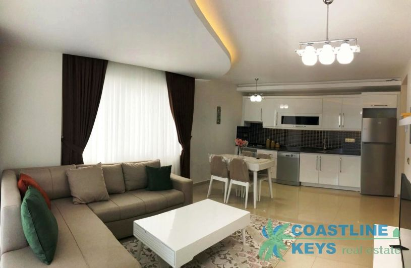 1-bedroom apartment for rent in Mahmutlar title=