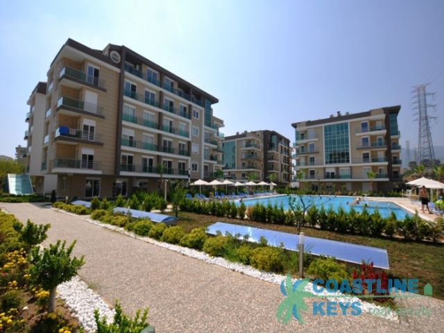 Apartments in the new modern complex in Antalya title=