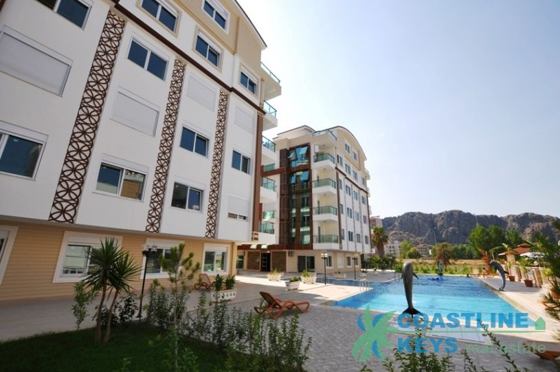 Property under construction in Konyaalti, Antalya title=