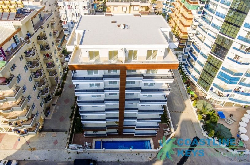 New residential complex in the center of Mahmutlar title=