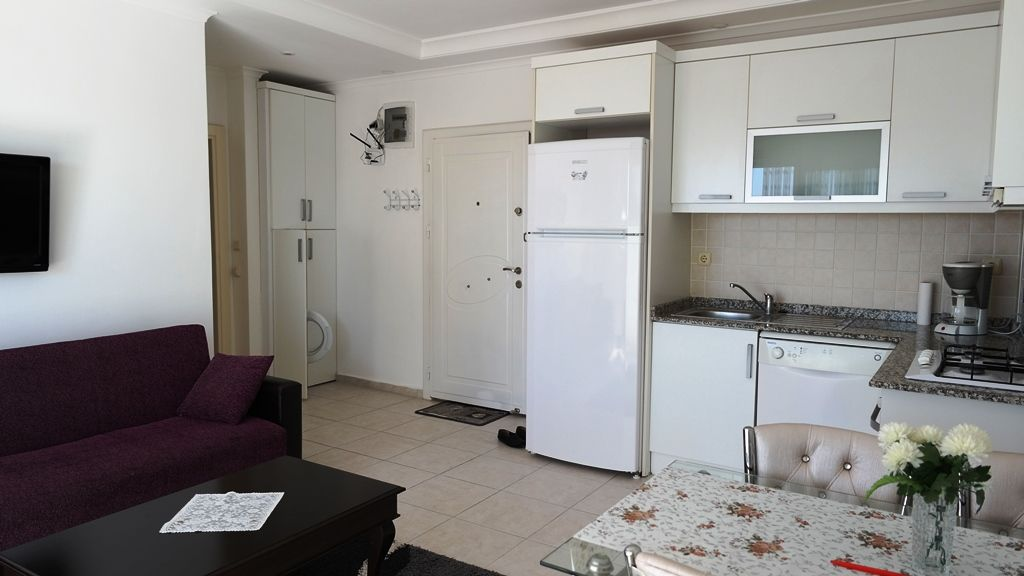 1-bedroom apartment with perfect view in Alanya title=