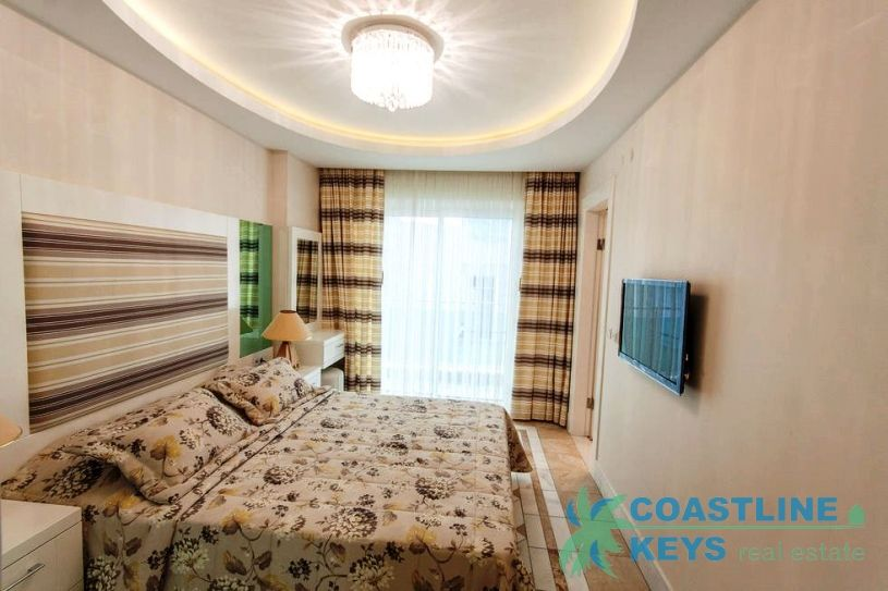 Beach front apartments in Cleopatra, Alanya title=