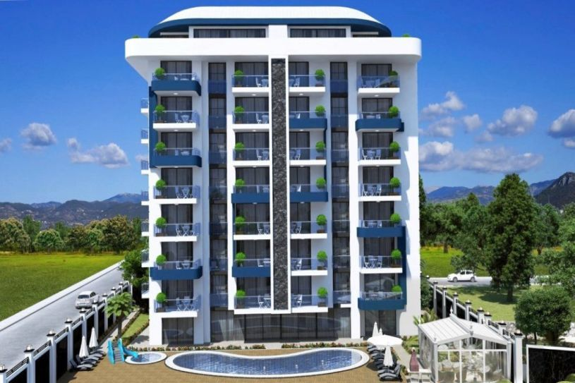 New apartment in the Alanya title=