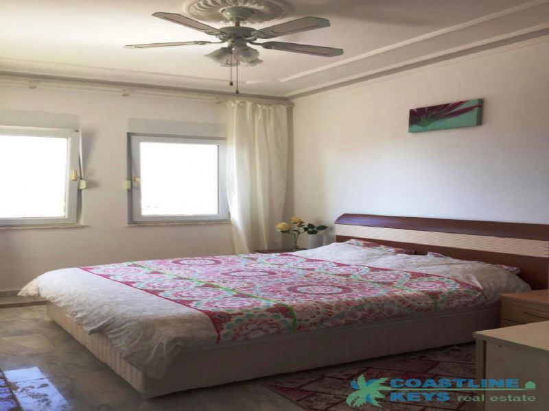 Furnished villa 2+1 with nice view in Kargicak title=