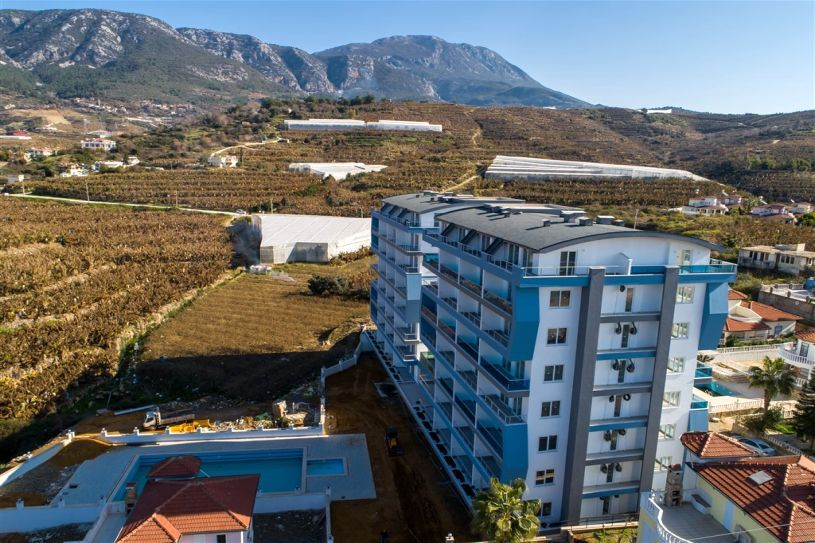 The new complex on in Mahmutlar! title=