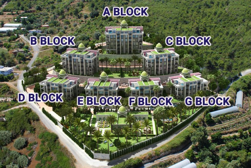 The new bgig and luxury complex in Kargicak title=
