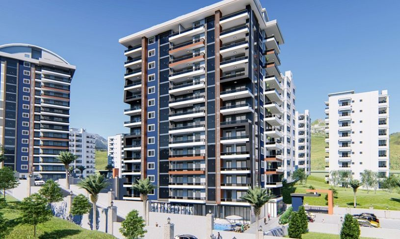 The new project in Alanya 650 m from the sea! title=