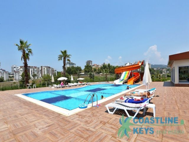 Apartments in the new modern complex in Avsallar title=