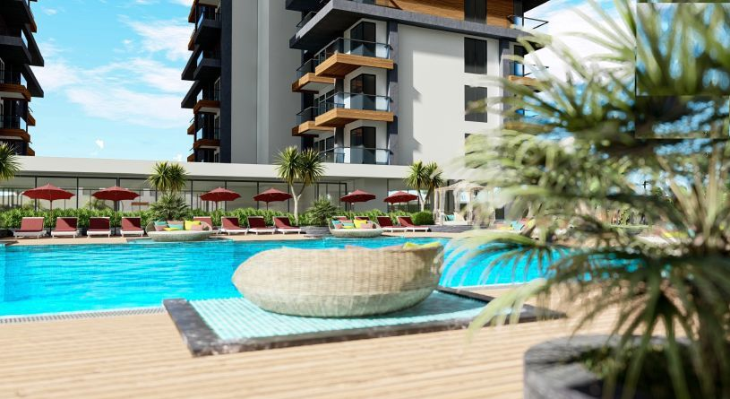 Perfect holiday place in Alanya title=
