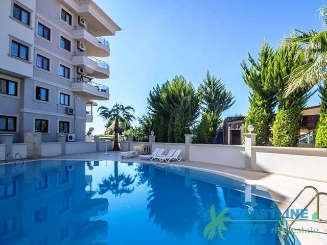 Furnished apartment in Oba, Alanya title=