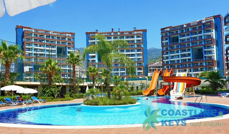 New luxurious residence in Alanya title=