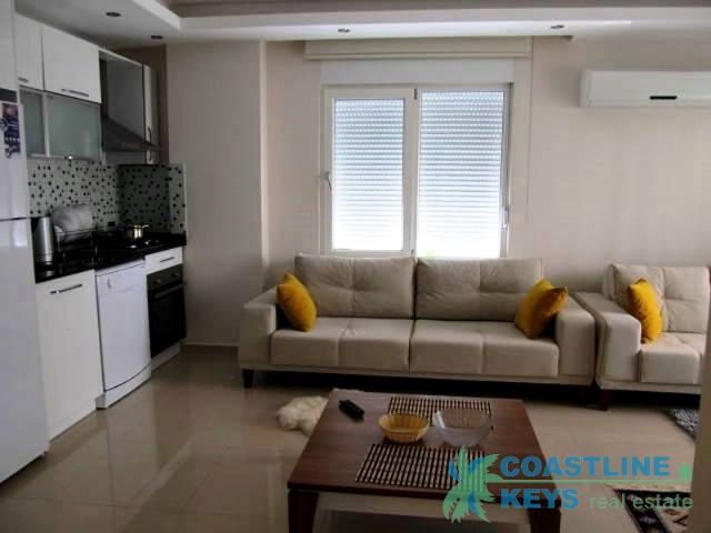 1-bedroom apartment near the sea in Oba, Alanya title=