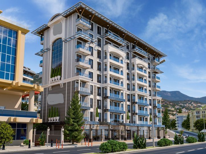 Very good investment project in Cleopatra beach title=