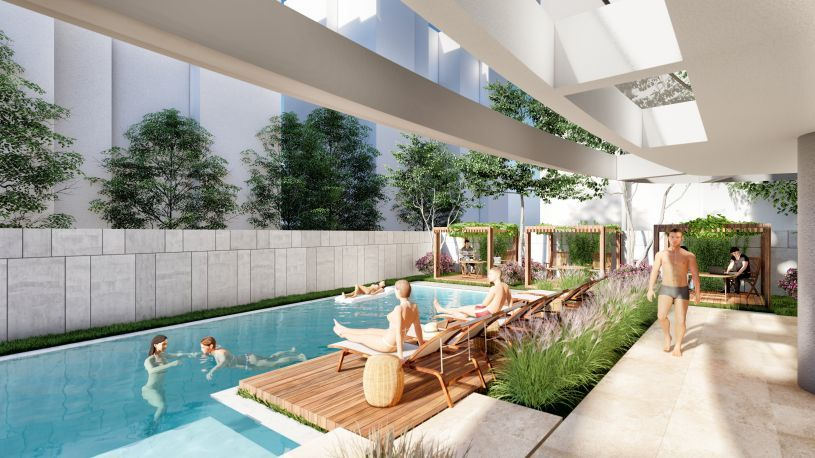 Property in Cleopatra Beach with payment plan title=